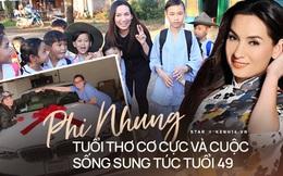 Tuổi thơ đầy cơ cực bỏ học từ năm lớp 6 làm thợ may, Phi Nhung nay giàu cỡ nào mà nuôi tận 23 người con?