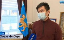 Nhanh trí cứu 2 em nhỏ thoát chết trên dòng sông băng, nam sinh viên người Việt được chính quyền địa phương ở Nga tuyên dương