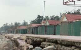 Cận cảnh bãi biển Nghệ An vẫn ngổn ngang trước mùa du lịch