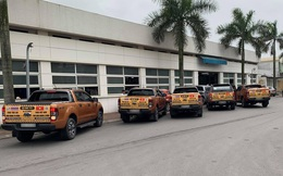 Chủ xe Ford diễu hành đòi quyền lợi ở Hà Nội