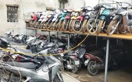 Nghĩa địa xe ở Hà Nội: Hàng nghìn chiếc chất đống như sắt vụn, chưa thể bán