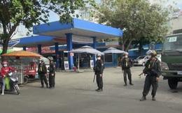 TP.HCM: Phong tỏa 1 cây xăng trên đường Nguyễn Kiệm, Gò Vấp