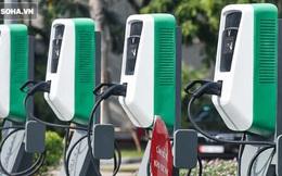 Cận cảnh những trạm sạc nhanh đầu tiên cho ô tô điện VinFast tại Hà Nội