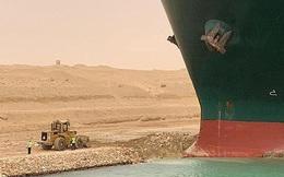 Tàu kẹt trên kênh Suez thành chủ đề chế ảnh trên mạng xã hội