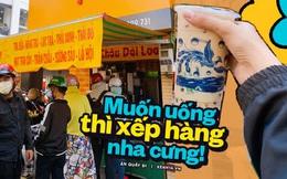 """Tiệm trà sữa """"chảnh"""" nhất Sài Gòn: Ai mua nhiều quá thì """"hổng"""" bán, uống có ngon không mà phải xếp hàng mệt dữ vậy?"""