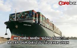 'Nhờ trời giúp', đội cứu hộ di chuyển được tàu Ever Given tới 30 mét