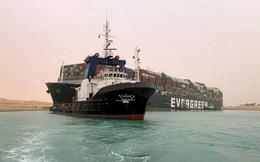 Mất 1 tuần để đả thông tàu hàng quanh kênh đào Suez