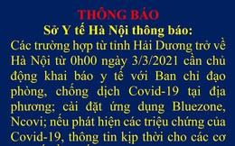 Người về Hà Nội từ 4 địa điểm này ở Hải Dương phải cách ly từ ngày 3/3
