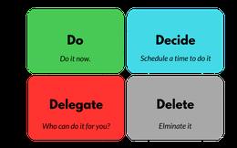 Ma trận Eisenhower: Phương pháp thần kỳ giúp nhân đôi nhân ba hiệu suất công việc, bất cứ ai cũng có thể áp dụng