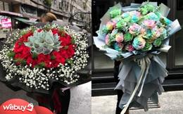 Điểm danh những bó hoa 8/3 khổng lồ trên thị trường năm nay: Giá từ vài triệu đến vài chục triệu, nguyên liệu có cả... tờ 500 nghìn đồng