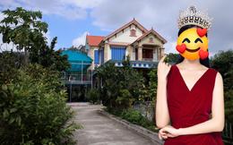 """Thăm khu vườn ngập cây trái của Hoa hậu ăn mặc giản dị ngay cả khi đã đăng quang, về quê là chạy ngay ra vườn chụp ảnh """"check in"""""""