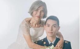 Bức ảnh cô dâu hơn chú rể 61 tuổi gây sốt cộng đồng mạng, ẩn tình phía sau khiến nhiều người bật khóc