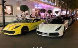Dàn siêu xe gần trăm tỷ hội ngộ tại Sài Gòn: Ferrari chiếm áp đảo, BMW i8 của Bùi Tiến Dũng cũng góp mặt