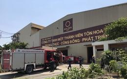 Hoa Sen Group (HSG) lên tiếng về vụ cháy nhà máy tại KCN Sóng Thần II