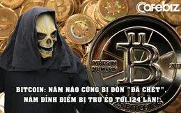 Sống dai như Bitcoin: Bị trù ẻo là 'đã chết' 402 lần từ khi ra đời, năm đỉnh điểm bị đồn tới 124 lần!