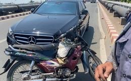 """Danh tính chủ xe """"Mẹc"""" hào phóng: Bị va quệt không bắt đền mà còn tặng tiền và xe máy cho người tông mình"""