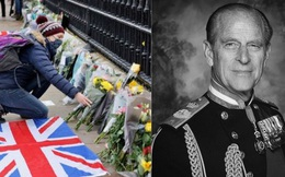 Chùm ảnh: Toàn nước Anh u buồn trước sự ra đi của Hoàng thân Philip và lo lắng cho tình hình của Nữ hoàng