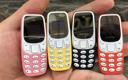 Rộ điện thoại tí hon, nhiều kiểu dáng, giá rẻ