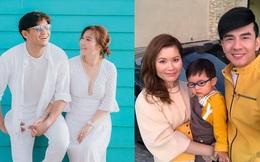 """Những người vợ đại gia """"bên ngoài ấm áp, bên trong nhiều tiền"""" của ca sĩ, diễn viên Việt"""