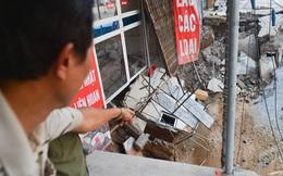 """Cuộc sống đảo lộn sau 1 tuần xuất hiện """"hố tử thần"""" ở Hà Nội: """"Công việc làm ăn bị đình trệ, con cháu phải mang đi gửi"""""""