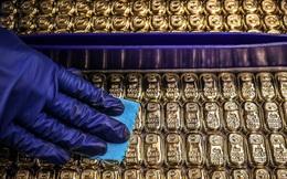Giá vàng giữ đà tăng mạnh, tái lập mốc 55 triệu đồng/lượng