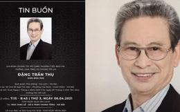 Nam diễn viên Đặng Trần Thụ (Chủ Tịch Tỉnh) qua đời, hưởng thọ 82 tuổi