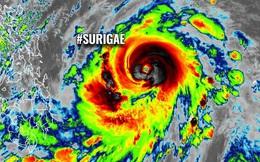 Siêu bão Surigae khiến mùa mưa Nam bộ đến sớm