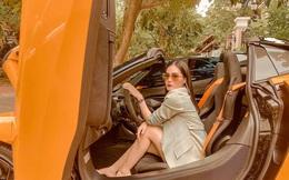 """Lái McLaren 24 tỷ đồng đi chơi vẫn bị nói """"làm nền cho Minh Nhựa"""", nữ đại gia chi 7,5 tỷ vẽ bản thiết kế nội thất phản pháo: """"... Cái này đem lại lợi nhuận cho đôi bên!"""""""