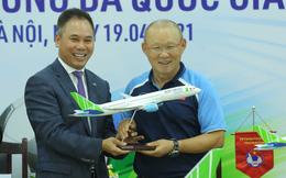 Tỷ phú Trịnh Văn Quyết chơi lớn, tuyên bố Bamboo Airways tài trợ vận chuyển cho một loạt tuyển bóng đá quốc gia trong 3 năm
