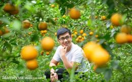 """Chàng """"công tử đất Hà thành"""" bỏ phố lên núi làm chủ 3 quả đồi trồng cam, mỗi năm kiếm cả tỷ bỏ túi nhưng cũng bị """"vùi dập"""" đến tơi bời"""
