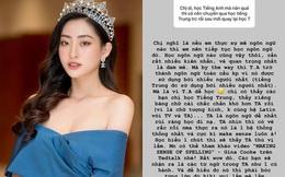"""Hoa hậu Lương Thùy Linh: """"Học Ngoại thương không có nghĩa ai cũng được quyền đòi mức lương 2.000 USD khi mới ra trường"""""""