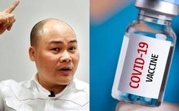 CEO Nguyễn Tử Quảng xác nhận BKAV đang nghiên cứu vaccine, cho rằng chế tạo vaccine giống lập trình phần mềm diệt virus