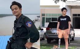 """Chiến sĩ công an mất 1 chân vì ngăn """"quái xế"""": Phải từ bỏ ước mơ vào Đại học, nước mắt rơi ướt gối khi nghĩ đến ba mẹ ở quê"""