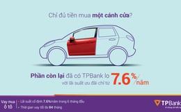 Mua ô tô vay ngân hàng nào tốt nhất?