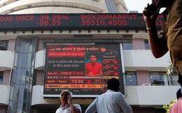 """Cuộc """"tháo chạy"""" khỏi thị trường chứng khoán Ấn Độ"""