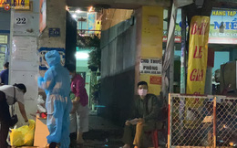 TP.HCM: Phong tỏa một con hẻm trong đêm vì liên quan đến ca mắc Covid-19 mới