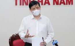 Bộ trưởng Nguyễn Thanh Long: Tốc độ lây nhiễm Covid-19 ở Hà Nam nhanh, mức độ tấn công nhanh