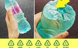 """Khi đồ nhựa ra đời, sức khỏe bị """"đánh cắp"""" nếu dùng sai: 7 mã số cần biết trước khi sử dụng"""