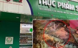 Đề xuất phạt 17 triệu đồng với chuỗi cửa hàng thực phẩm sạch bán cá kho có giòi bò lúc nhúc ở Hà Nội