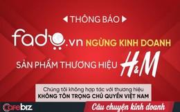 Một sàn TMĐT Việt vừa chính thức tuyên bố ngừng kinh doanh với H&M