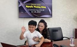 """Vợ ông Dũng """"lò vôi"""" cho cậu con trai 9 tuổi mệnh danh là """"tỷ phú nhỏ tuổi nhất Việt Nam"""" lên sóng nêu cảm nhận về ông Võ Hoàng Yên!?"""