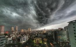 CẢNH BÁO: Sắp xảy ra mưa dông, gió giật mạnh nguy hiểm tại Hà Nội và khu vực lân cận