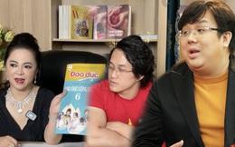 """Dằn mặt dàn nghệ sĩ, bà Phương Hằng xin lại sách Giáo dục công dân và Đạo đức mà CEO kiêm Gymer có tiếng từng được tặng để """"trao lại cho con trai Hoài Linh"""""""