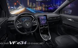 Cận cảnh nội thất trong ô tô điện VinFast VF e34 và hệ thống điều hòa lọc cả bụi mịn