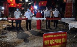 Hà Nội: Thôn Lỗ Giao, Đông Anh với hơn 2.000 người dân được gỡ bỏ phong tỏa sau 21 ngày