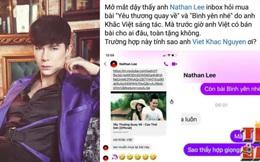 Nathan Lee mua độc quyền thêm 2 hit của Cao Thái Sơn do Khắc Việt sáng tác