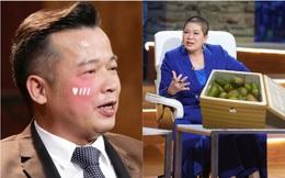 """Hay """"choảng"""" nhau trên sóng truyền hình nhưng nghe tin Shark Việt phải tự cách ly, Shark Liên liền """"tiếp tế"""" ngay 15kg xoài bằng một cách siêu hài hước"""