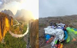 """Lời kể của nhân chứng về đường chạy marathon """"tử thần"""" ở Trung Quốc: Dốc núi hiểm nguy, thời tiết băng giá đột ngột khiến con người ngã quỵ"""