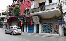 Hình ảnh các cửa hàng kinh doanh tại Hà Nội đóng cửa vì dịch COVID-19
