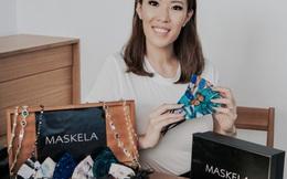 Kinh doanh khẩu trang cao cấp bán cho nghệ sĩ, nữ doanh nhân thắng lớn trong đại dịch